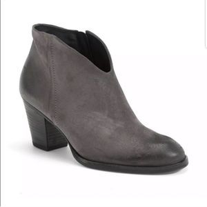 Paul Green Delgado Truffle Leather Suede Boots